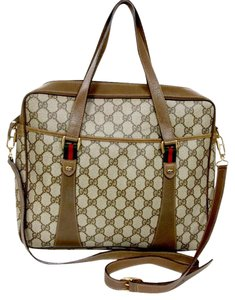 Gucci Boston Duffle Travel Grand Brown Travel Bag
