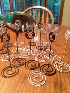 Spiral Photo Holders