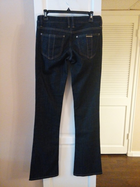 Burberry Boot Cut Jeans-Dark Rinse Image 1