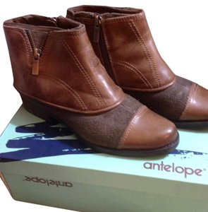 Antelope brown/green MIST Boots