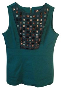 Adrienne Vittadini Top Emerald Green