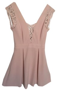 BCBGeneration Has Pockets Open Back Eyelash Lace Dress