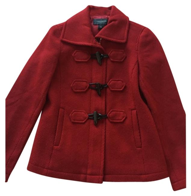 Ann Taylor Winter Fall Toggle Wool Jacket Pea Coat