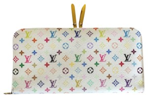 Louis Vuitton Insolite Wallet White Multicolor