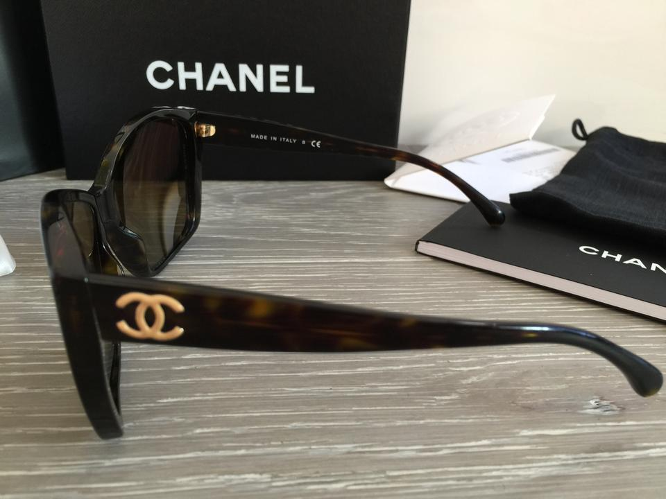b356555fe8329 Chanel Details about CHANEL 5203 GLITTER Brown CC Logo SUNGLASSES c.714 4P  Box. 123456789101112