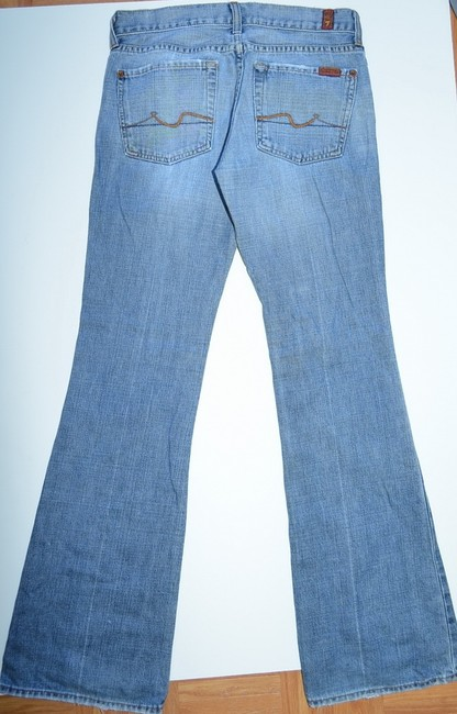7 For All Mankind Denim Made In Usa Flare Leg Jeans
