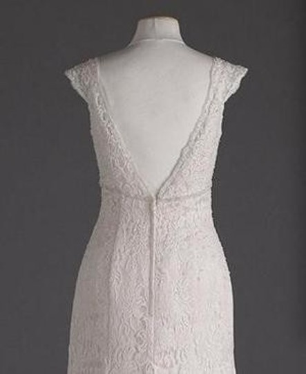 Trumpet Style Wedding Gowns: David's Bridal Ivory Lace Allover Beaded Trumpet Gown