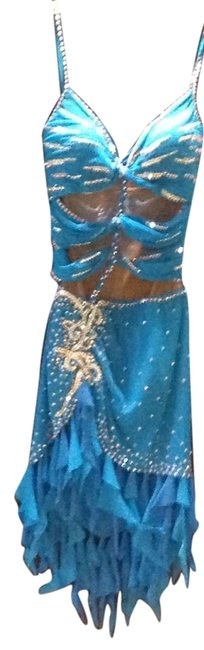 Preload https://item5.tradesy.com/images/custom-made-by-josephine-dress-turquoise-5421079-0-0.jpg?width=400&height=650