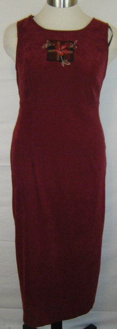 Sag Harbor 16w Faux Suede 2pc Dress