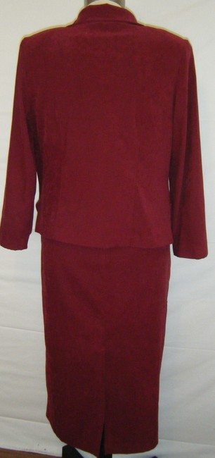SAG HARBOR Sz 16w Faux Suede 2pc Dress