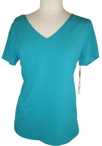 CALVIN KLEIN Silky Top GREEN