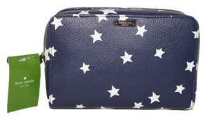 Kate Spade Kate Spade Large Aspen Cosmetic Case Twinkle Twinkle French Navy