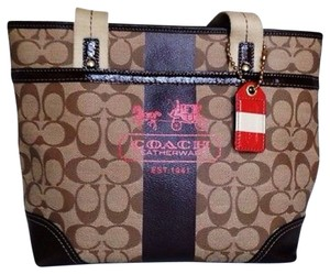 Coach Heritage Tote in brown