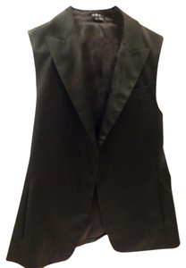 Theory Formal Party Sleeveless Fun Top Black