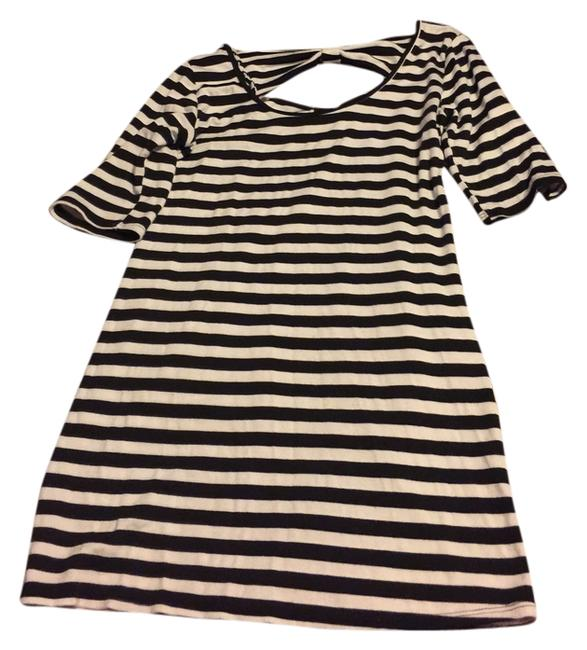 Preload https://item2.tradesy.com/images/1-madison-dress-black-and-white-5428696-0-0.jpg?width=400&height=650