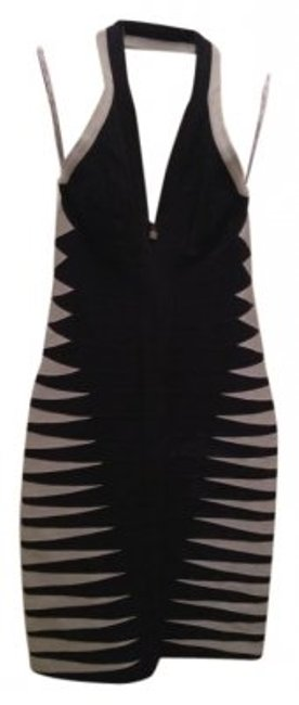 Preload https://item5.tradesy.com/images/herve-leger-blackgray-holiday-clothes-halter-dre-mini-cocktail-dress-size-6-s-5429-0-0.jpg?width=400&height=650