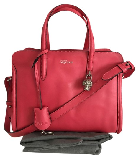 Alexander McQueen Satchel in Flame