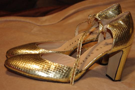 Walter Steiger Gold Pumps