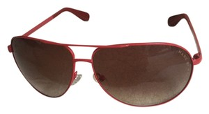 Marc by Marc Jacobs Marc by Marc Jacobs Red Aviator Sunglasses