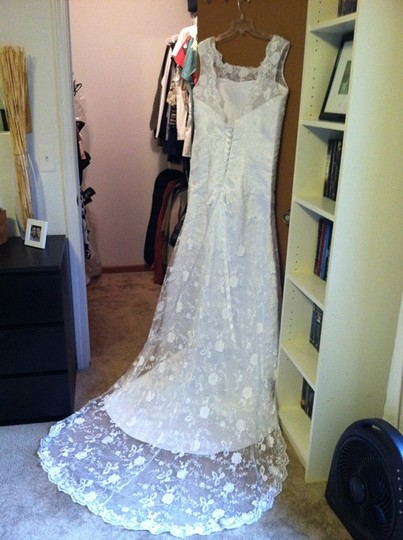 Preload https://img-static.tradesy.com/item/54299/white-lace-custom-made-vintage-wedding-dress-size-14-l-0-0-540-540.jpg