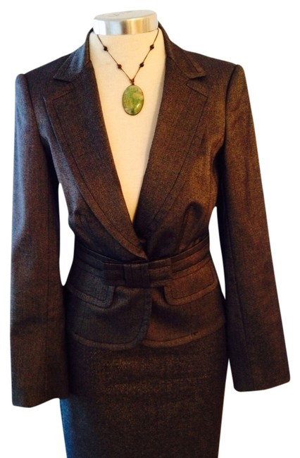 Trina Turk Evening Longsleeve Jacket Silver/grey Blazer