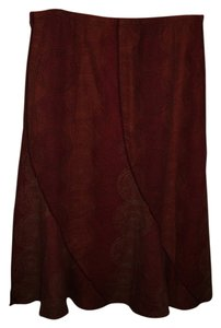 J. Jill Skirt Rust/tan