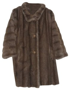 Tissavel of France Fur Vintage Mod Fur Coat