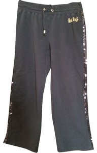 BCBG Capris black/gold