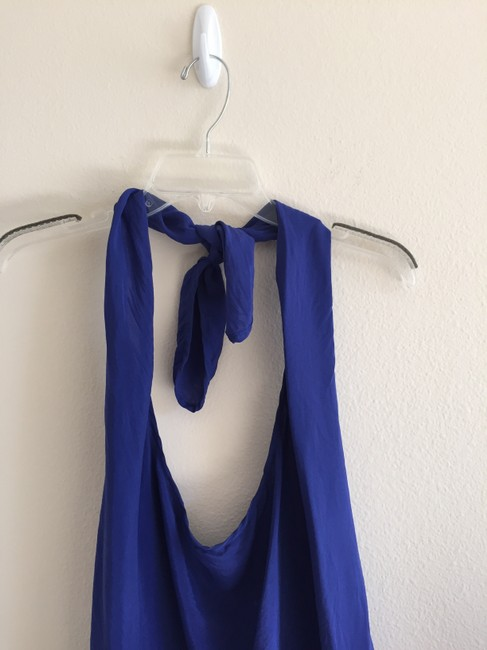 Guess By Marciano Blue Halter Top