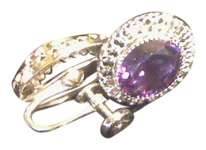 Kay Jewelers Sterling Silver and Amethyst earrings.