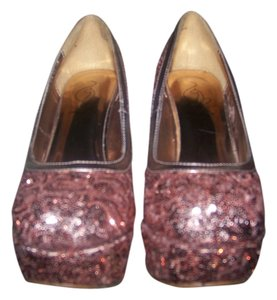 Baby Phat ROSE GOLD Platforms