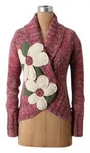 Anthropologie Flower Sweater
