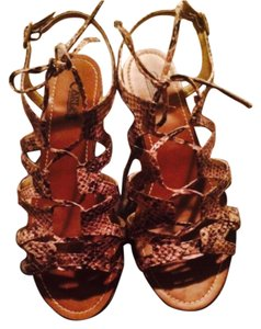 Carlos by Carlos Santana tan multi Sandals