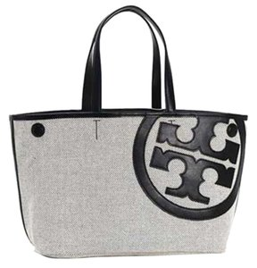 Tory Burch Tote in Natural Black