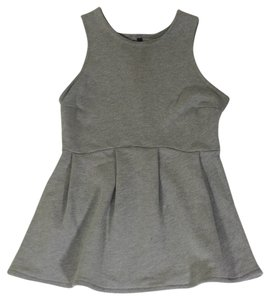 Drifter Industries Peplum Sleeveless Sweatshirt Sweater
