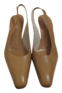 BCBGMAXAZRIA Tan Pumps