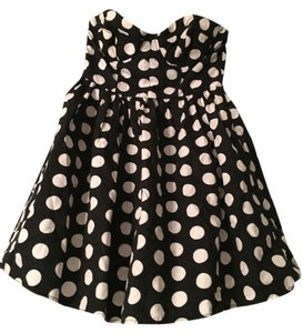 Forever 21 Tulle Polka Dots Cute Sweetheart Dress