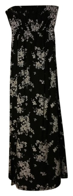Black with flowers Maxi Dress by Old Navy