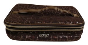 London Soho New York Cheetah Print Travel Bag