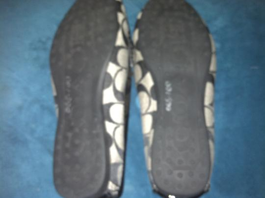 Coach Black/Grey Flats