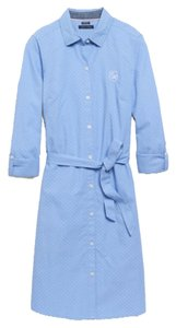 Tommy Hilfiger short dress Light blue on Tradesy