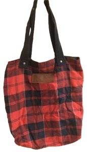 Abercrombie & Fitch Tote in Red & Blue