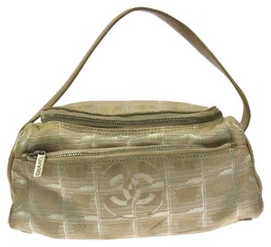 Chanel New Travel Line Cc Hand Tote in Beige