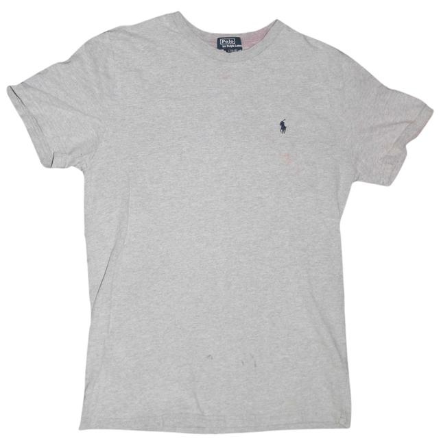 Ralph Lauren T Shirt Faded Gray/Navy Horse
