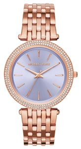 Michael Kors Michael Kors Women's Darci Rose Gold-Tone Stainless Steel Bracelet Watch 39mm MK3400