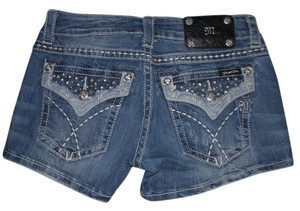 Miss Me Mini/Short Shorts Denim/ Studded