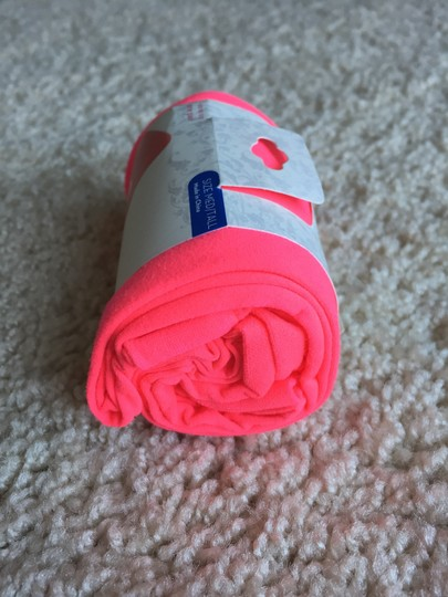 American Apparel Hot Pink Footless Tights