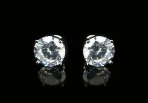 Other 9mm Round CZ Earring