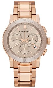 Burberry NWOT Burberry Chronograph Rose Gold watch BU9703