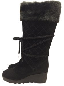Marc Jacobs Suede Black Boots